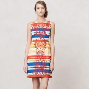 Anthropologie Tabitha Totem Shift Dress Size 2